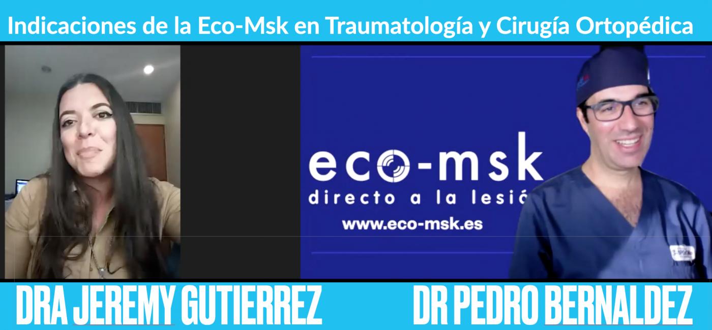 Indicaciones de la Eco-Msk en Traumatología y cirugía ortopédica