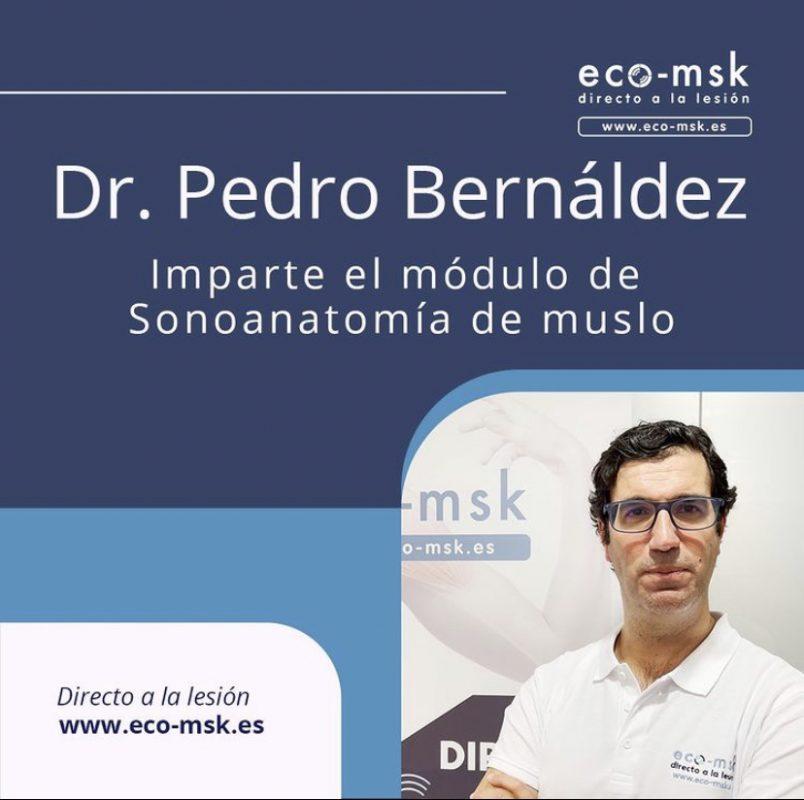 Dr Pedro Bernáldez Profesor del Curso Eco-Msk